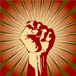 *Activist-fist